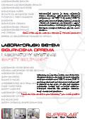 Laboratorijski sigurnosni sistemi - Sigurnosna oprema
