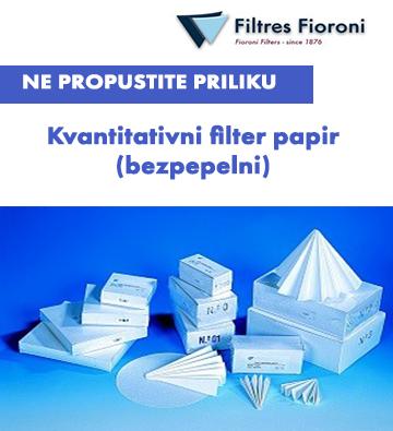 SUPERLAB AKCIJA! Filtres Fioroni Kvantitativni bezpepelni filterpapir!