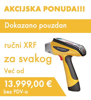 Dokazano pouzdan ručni XRF za svakog!