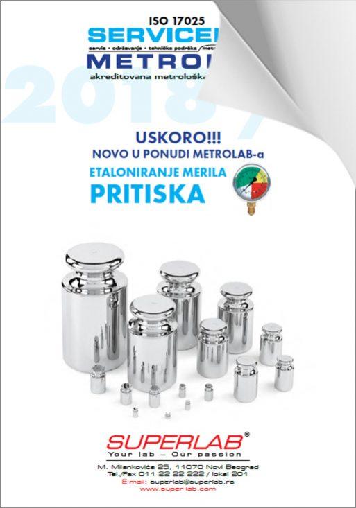 SUPERLAB METROLAB/SERVICELAB Brošura