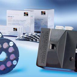 Komparator 2000+ sa sertifikovanim staklenim diskovima za kontrolu kvaliteta vode